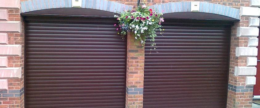 installed new garage door