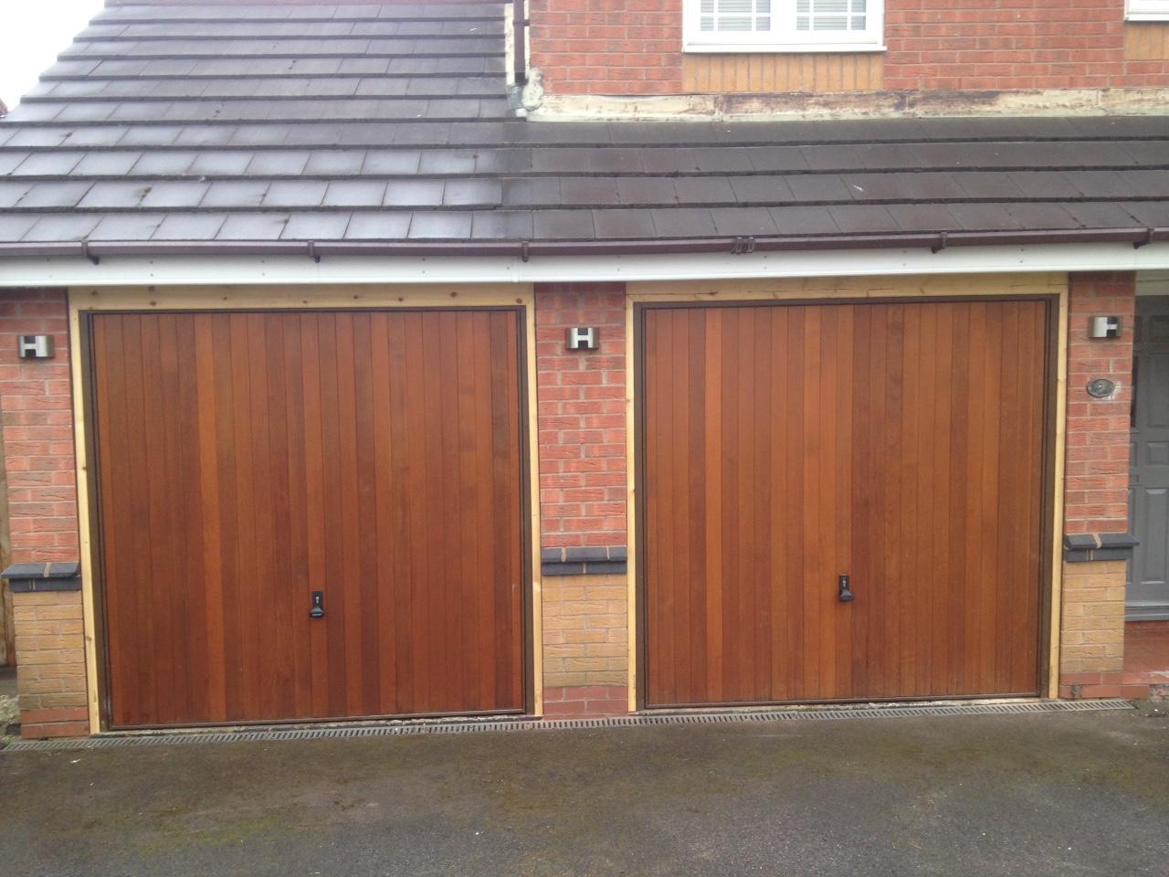 timber garage doors for homes