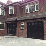 black garage doors Stockport