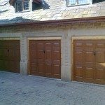 3 new garage doors