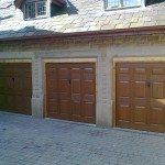3 new garage doors