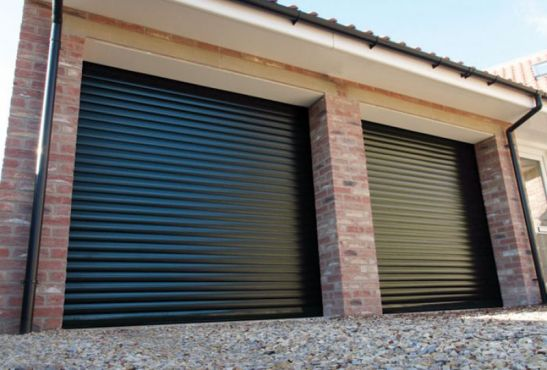 gliderol roller garage door for garage gym
